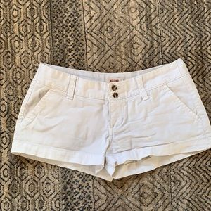 Mossimo supply co white shorts